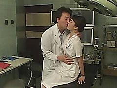 Cosplay takes place in a hospital. Everybody wants to nail a pretty chinese girl patient. They nail her vag with fuck-a-thon toys, perform titillating bust until she's totally weakened