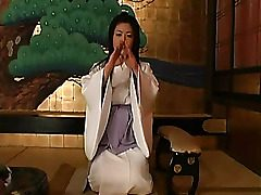 What makes Asian girls in classic kimono outfits seem so special? Is that because they look so virginal and hard-to-get? Taking a kimono off the damsel and fucking her is a dream for many