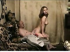 Old man young lady fuck Retha from 1fuckdatecom