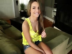 Guy blown off by and fucking his babysitter Kimmy Granger