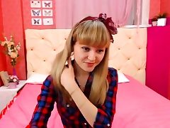 Teen Blonde Humid Vag Solo
