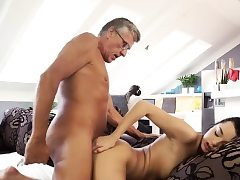 My sugar father fuck me and old man anal invasion hd What would you