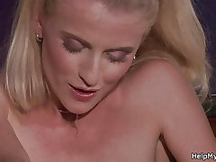 Boy asks barman fuck his platinum-blonde wifey for cash