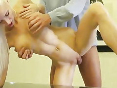 Successful Dude Picked Up Huge-titted Light-haired And Humped Her Pussy