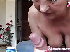 german older mature woman bangs young neighbor - amateur