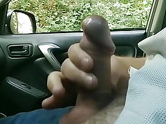 Public dick car showcase with spunk 54 - She looks