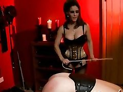 Mischievous Bondage & discipline movie with a slutty whore dominating over her man