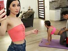 Mummy And Step Son-In-Law Do Yoga Together - S12:E4
