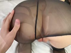 Swift Nail with the Flawless College Girl in Pantyhose
